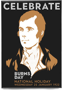 Burns Day – magnet - Indy Prints by Stewart Bremner