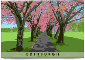 Edinburgh: Spring Time in The Meadows – magnet