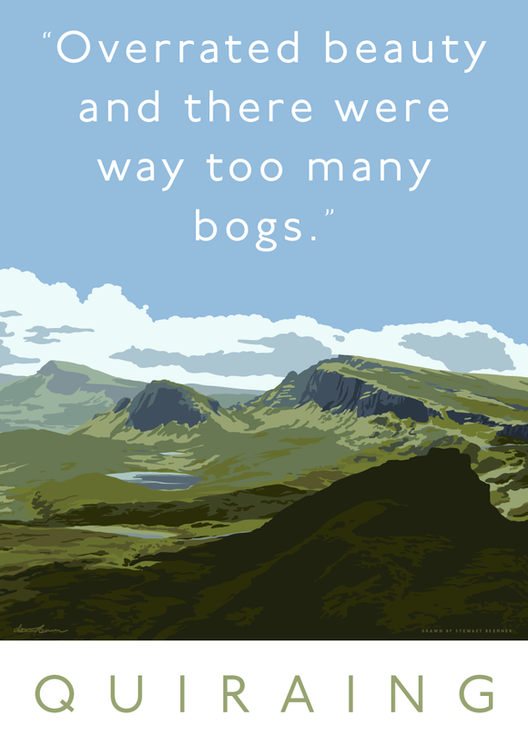 The Quiraing is overrated – poster
