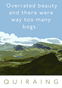 The Quiraing is overrated – giclée print