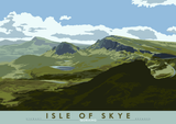 Isle of Skye: Quiraing – poster - natural - Indy Prints by Stewart Bremner