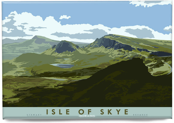 Isle of Skye: Quiraing – magnet - Indy Prints by Stewart Bremner