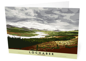 Lochaber: Loch Garry – card