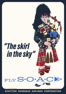Fly SOAC – poster - Indy Prints by Stewart Bremner