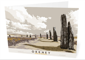 Orkney: Ring of Brodgar – card