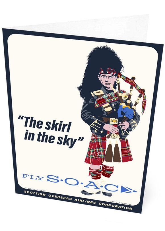 Fly SOAC – card - Indy Prints by Stewart Bremner