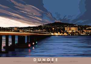 Dundee and the River Tay - Indy Prints by Stewart Bremner