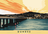 Dundee and the River Tay – giclée print