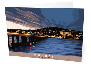 Dundee and the River Tay – card - Indy Prints by Stewart Bremner