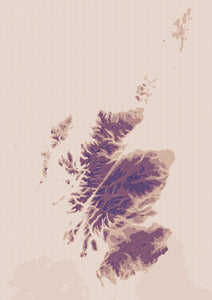 The high places – poster - Indy Prints by Stewart Bremner
