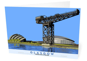 Glasgow: Finnieston riverside – card