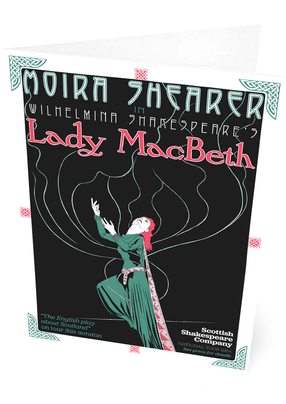 Lady MacBeth – card