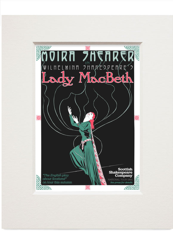 Lady MacBeth – small mounted print