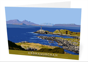 Ardnamurchan: Lighthouse and the Small Isles – card