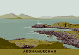 Ardnamurchan: Lighthouse and the Small Isles – poster