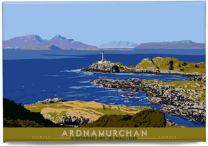 Ardnamurchan: Lighthouse and the Small Isles – magnet