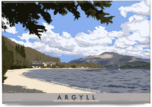 Argyll: Loch Lomond and Ben Lomond – magnet - Indy Prints by Stewart Bremner