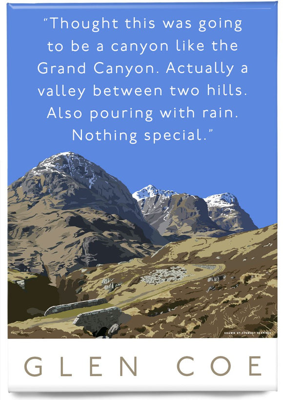 Glen Coe is actually a valley – magnet