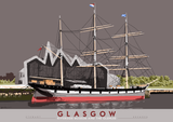 Glasgow: Riverside Museum and the Glenlee – poster