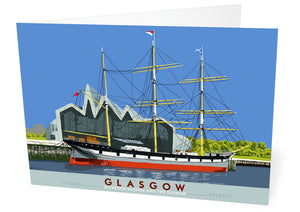 Glasgow: Riverside Museum and the Glenlee – card