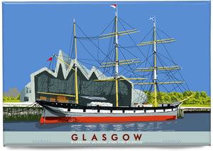 Glasgow: Riverside Museum and the Glenlee – magnet