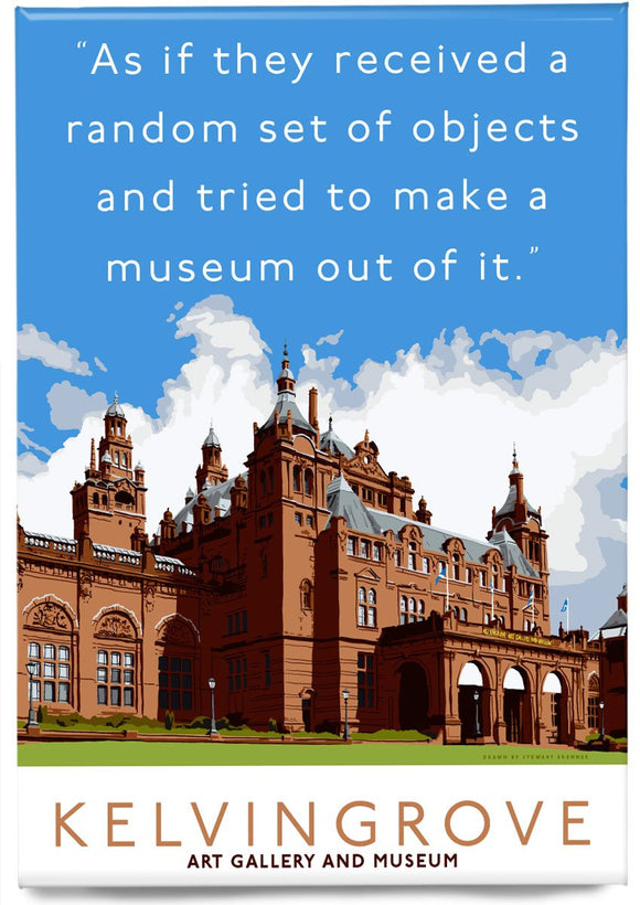 The random objects of Kelvingrove – magnet