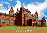 Glasgow: Kelvingrove Art Gallery and Museum – poster - natural - Indy Prints by Stewart Bremner