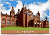 Glasgow: Kelvingrove Art Gallery and Museum – magnet - natural - Indy Prints by Stewart Bremner