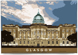 Glasgow: The Mitchell Library – magnet - natural - Indy Prints by Stewart Bremner