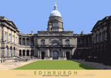Edinburgh: University Old College – poster - natural - Indy Prints by Stewart Bremner