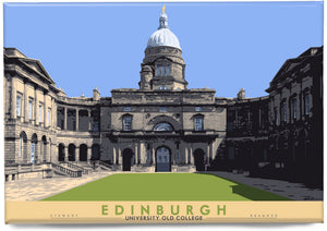 Edinburgh: University Old College – magnet - Indy Prints by Stewart Bremner
