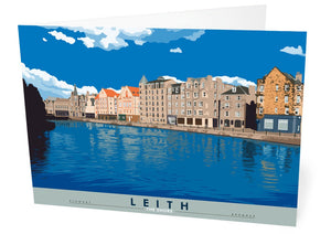 Leith: The Shore – card - Indy Prints by Stewart Bremner