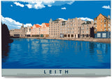 Leith: The Shore – magnet - natural - Indy Prints by Stewart Bremner
