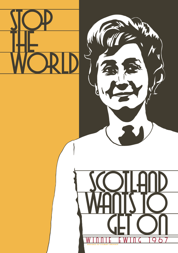 Scotland wants to get on – poster