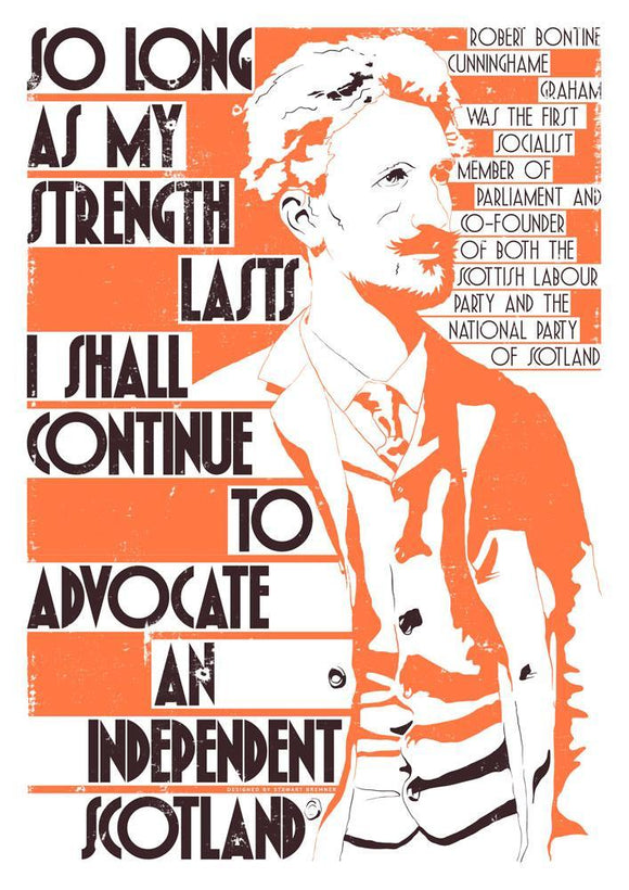 So long as my strength lasts – giclée print - Indy Prints by Stewart Bremner