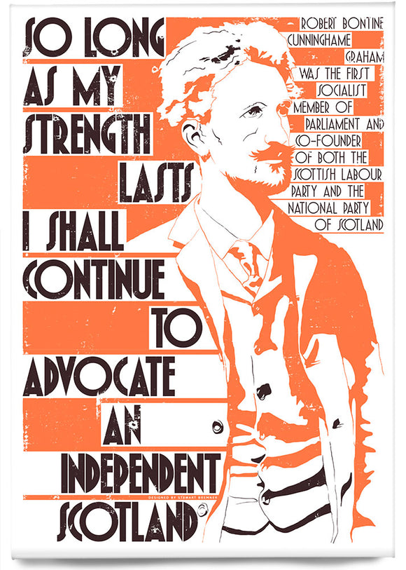So long as my strength lasts – magnet - Indy Prints by Stewart Bremner