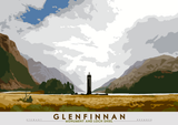 Glenfinnan: Monument and Loch Shiel - Indy Prints by Stewart Bremner