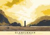 Glenfinnan: Monument and Loch Shiel – poster