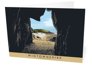Wigtownshire: St Ninian's Cave – card