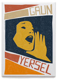 Gaun yersel – magnet - orange - Indy Prints by Stewart Bremner
