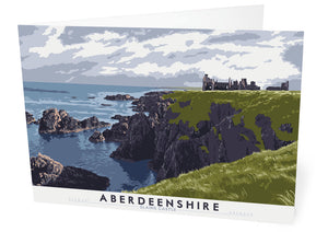 Aberdeenshire: Slains Castle – card - Indy Prints by Stewart Bremner