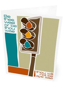 Be thee weel or be thou wae – card - Indy Prints by Stewart Bremner