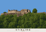 Stirling: Castle – poster - natural - Indy Prints by Stewart Bremner