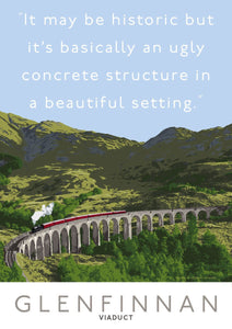 The Glenfinnan Viaduct is ugly – poster