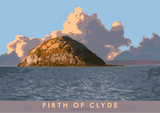 Firth of Clyde: Ailsa Craig – giclée print - natural - Indy Prints by Stewart Bremner