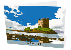 Argyll: Castle Stalker – card - Indy Prints by Stewart Bremner