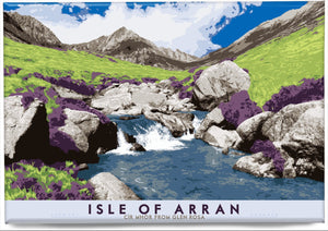 Isle of Arran: Cìr Mhòr from Glen Rosa – magnet