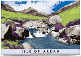 Isle of Arran: Cìr Mhòr from Glen Rosa – magnet - natural - Indy Prints by Stewart Bremner