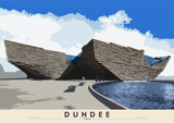 Dundee: V&A – poster - natural - Indy Prints by Stewart Bremner