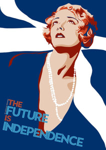 The future is independence – giclée print - Indy Prints by Stewart Bremner